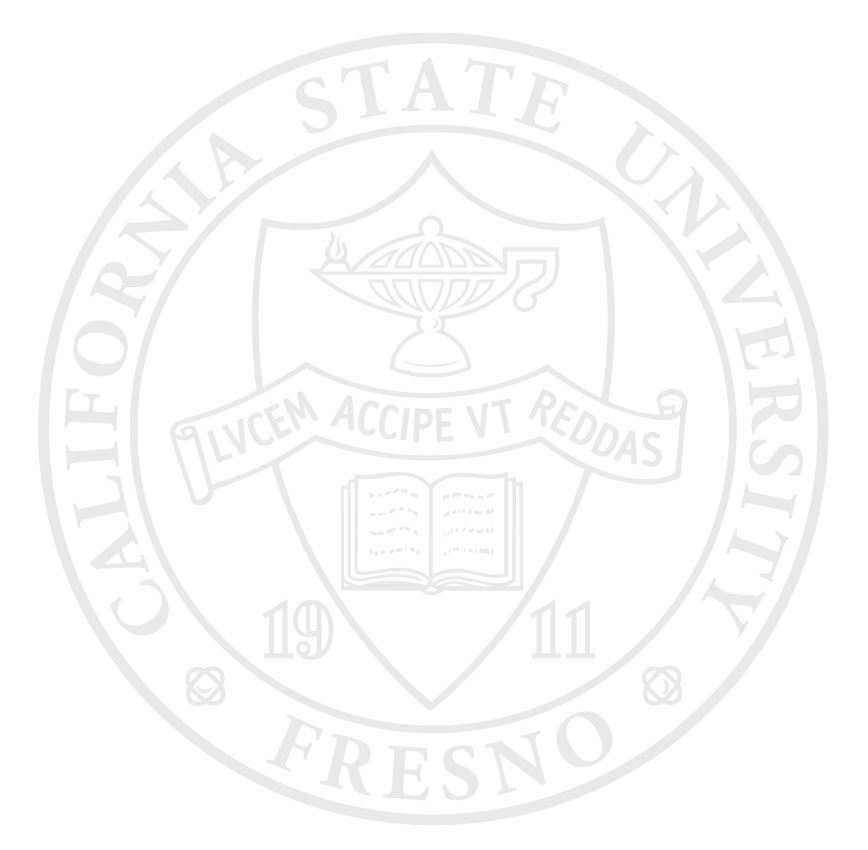 Fresno State medallion